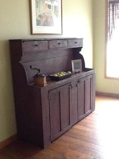 Primitive sideboard - would look incredible in my new kitchen!