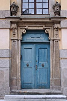 old door in Wroclaw, Poland