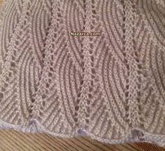 Lace Knitting Patterns, Knitting Designs, Stitch Patterns, Vogue Knitting, Baby Knitting, Crochet Motif, Diy Crochet, Moda Emo, Baby Sweaters
