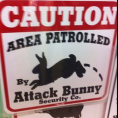 Rabbett Insurance Agency, because we can't all have an Attack Bunny!!
