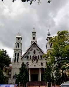 Katedral Ambon. Indonesia