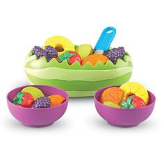 """Learning Resources New Sprouts Fresh Fruit Salad Set - Learning Resources - Toys """"R"""" Us"""