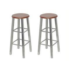 Kitchen Bar Stools Wooden Dining Chairs Barstools Seating Home Tall Legs Seat