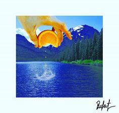 #illustration #Collage #surrealism #orange #surreal42