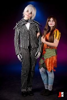 Jack and Sally - The Nightmare before Christmas by Brillhart Sally Nightmare Before Christmas, Jack And Sally, Punk, Style, Fashion, Swag, Moda, Fashion Styles, Punk Rock