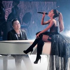 Find images and videos about ariana grande, ariana and arianagrande on We Heart It - the app to get lost in what you love. Ariana Tour, Ariana Grande Fotos, Ariana Grande Pictures, Ariana Grande Wallpaper, Dangerous Woman, Female Singers, Celebs, Celebrities, My Idol