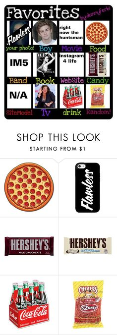 """""""all about me"""" by cara-cxxi ❤ liked on Polyvore featuring Hershey's"""