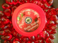 Bubbly Strawberry Body Butter for Kretanet Body Butter, Olive Oil, Moisturizer, Bubbles, Strawberry, Organic, Moisturiser, Strawberries, Vw Beetles