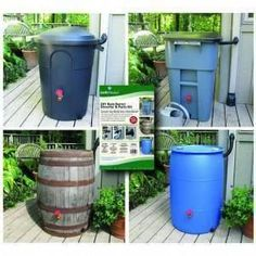 EarthMinded DIY Rain Barrel Diverter and Parts Kit. Wine barrel would look great! Rain Barrel Kit, Water Barrel, Rain Barrels, Water Collection System, Ways To Save Water, Water From Air, Bokashi, Rainwater Harvesting, Water Storage