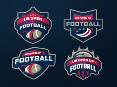 US OPEN OF FOOTBALL by Stanislav on Dribbble