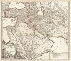 This is a physical map of the Middle East It shows us the main