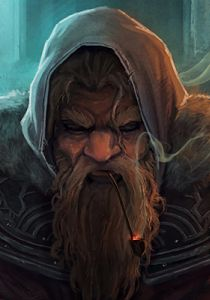 m Dwarf Wizard Med Armor Cloak portrait Fortress Community Mountains underdark Hills Conifer Forest sm Fantasy Dwarf, Fantasy Rpg, Medieval Fantasy, Dungeons And Dragons Characters, Dnd Characters, Fantasy Characters, Fantasy Portraits, Character Portraits, Fantasy Races