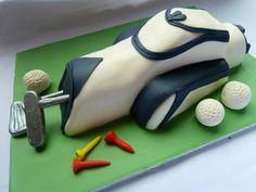 #golf bag #cake