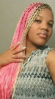 on pinterest box braids natural hair and crochet braids crochet braids ...