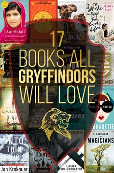 17 Books All Gryffindors Will Love