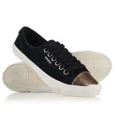 New Womens Superdry Low Pro Luxe Trainers Black Suede Sneakers, Superdry Style, Magic Hair, Queen, Men's Shoes, Leather, Black, Stitching, Costura
