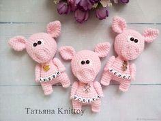 Мастер-класс Свинки с пожеланиями – купить в интернет-магазине на Ярмарке Мастеров с доставкой - F67U1RU | Москва