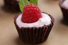These Chocolate Raspberry Cups Are Delicately Delicious