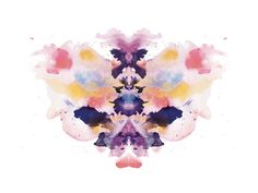 Watercolor Inkblot 1 by Kristen Smith for Minted $207 framed 24x18