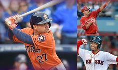 Beisbol Sporting: Altuve, Betts o Trout. ¿Quién ganará el  MVP 2016 ...