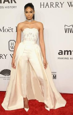 9b77473e952 Custom Modest Ivory Zuhair Murad Pants Formal Celebrity Dresses Strapless  Lace Backless Corset Pants Suit-in Mother of the Bride Dresses from  Weddings ...