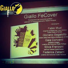 #ferrara #gialloferrara #giallofe15 #fecover2015  www.gialloferrara.it