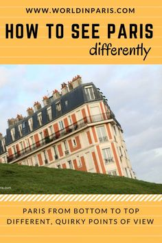 See Paris Differently