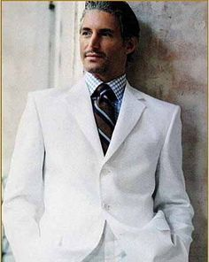 There is just something regal about a white double breasted suit. Maybe it is my fantasy to be Mr. Rourke plus I prefer the Italian cut.