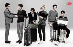Lotte Duty Free : EXO-K