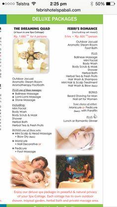 Febris quad spa treatment