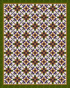 Use A Walk through the Maze to Sew a Quilt with Circular Pathways: About the Maze Quilt Pattern