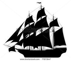 old ships drawings - Google Search