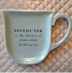 Tea with K.