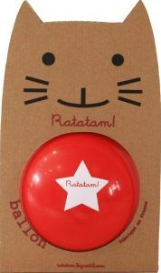 Ratatam 15cm Ball Red S Very resistant, Bounce PVC Details : Red, Delivered in a cardboard cat packaging Diameter : 15 cm. Not suitable for children under 36 months Made in : France http://www.comparestoreprices.co.uk/january-2017-7/ratatam-15cm-ball-red-s.asp