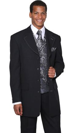 SKU#RHLI_5BV Designer Men's 4 or 7 Button Suit, Several different ...