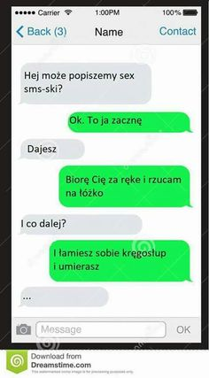 Funny Sms, Funny Text Messages, Wtf Funny, Funny Texts, Hilarious, Funny Crush Memes, Polish Memes, Funny Conversations, Funny Clips