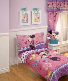 Minnie Mouse Houten Junior Kinderbed