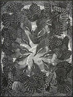 Colin See-Paynton. Round of Wren. (wood engraving)