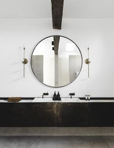 Belle Coco Republic interior design awards: Bathroom finalists - The Interiors Addict Australian Interior Design, Interior Design Awards, Bathroom Interior Design, Interior Ideas, Interior Styling, Contemporary Bathrooms, Contemporary Interior, Modern Interior Design, Rustic Contemporary