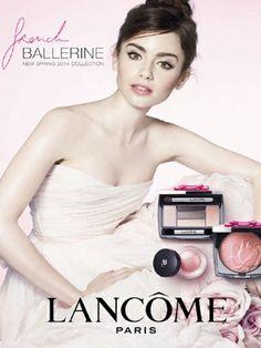 Lily Collins, nouvelle égérie Lancôme
