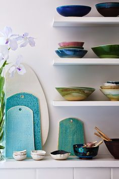 I'm thrilled to have my home and ceramic studio featured in this months color issue of Lonny magazine ! ...