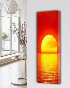 NATURE-I Design Heizkörper Wohnzimmer Heizkörper mit 13 Natur abbildungen, Design Heizung Küche besonderes.