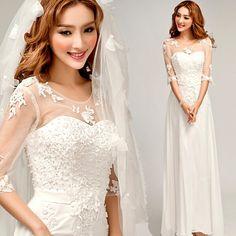Amazon.co.jp: Doremo global 花嫁ウエディングドレス /ホルターネック/シンプル/ロング引き裾姫系ドレス/結婚式/二次会/演奏会ドレス (S): 服&ファッション小物