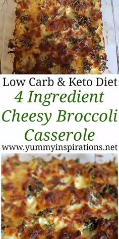 Weight watcher meals 322992604528692971 - Keto Broccoli Casserole Recipe – Easy low carb broccoli bake recipes – great idea for a quick meat free dinner or a Ketogenic Diet friendly side dish. Loaded with cheese and only 4 ingredients. Broccoli Bake, Broccoli Recipes, Meat Recipes, Baking Recipes, Vegetarian Recipes, Best Low Carb Recipes, Good Healthy Recipes, Crockpot Recipes, Low Carb