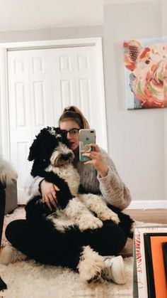 VSCO - cali the bernedoodle Animals And Pets, Baby Animals, Cute Animals, Bernedoodle Puppy, Cute Dogs And Puppies, Doggies, Fur Babies, Cute Pictures, Dog Lovers