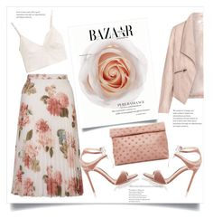 """""""Pure radiance"""" by lisamichele-cdxci ❤ liked on Polyvore featuring Zizzi, Madewell, Miss Selfridge, Gianvito Rossi and Marie Turnor"""
