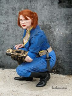 Vault Girl from Fallout 3 Cosplay