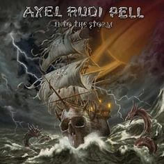 "L'album di #AxelRudiPell intitolato ""Into The Storm""."