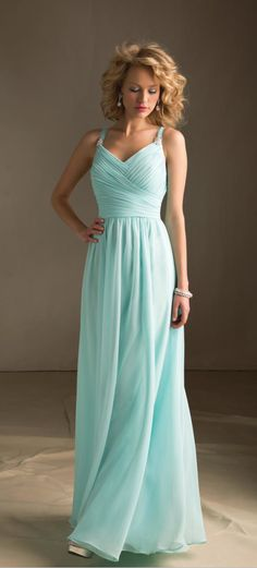 Bridesmaid dress, love this colour