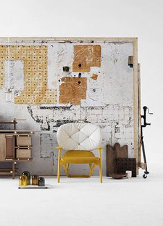 Some things I loved last week! Like this interior styled by the Swedish stylist Lotta Agaton. I love love love it.